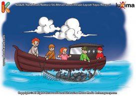 ilustrasi seri sains anak mengenal alam semesta rahasia keajaiban lautan, Kenapa Nelayan Sangat Menggantungkan Hidupnya di Laut