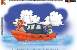 ilustrasi seri sains anak mengenal alam semesta rahasia keajaiban lautan, Ternyata Samudera Pasifik Menyimpan Air di Bumi Paling Banyak