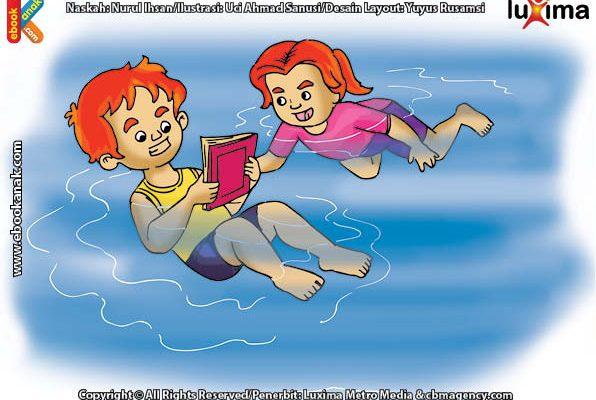 Inilah Penyebab Kenapa Orang Bisa Terapung Jika Berenang di Laut Mati
