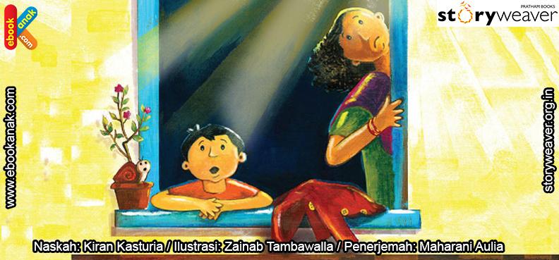 02 Illustrasi buku cerita Jas Hujan, Hari yang Cerah COVER