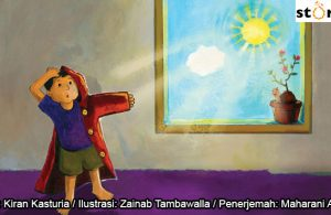 03 Illustrasi buku cerita Jas Hujan, Kenapa Hujan Belum Turun COVER