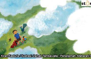 05 Illustrasi buku cerita Jas Hujan, Piknik COVER