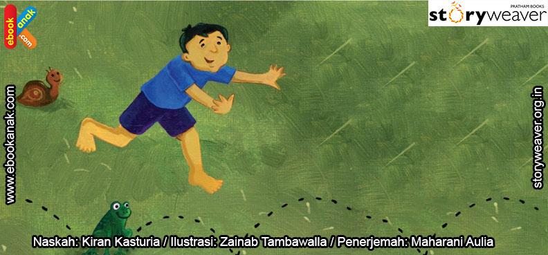 07 Illustrasi buku cerita Jas Hujan, Langit Bergemuruh COVER