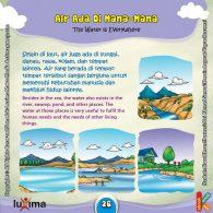 Ebook Rahasia Keajaiban Air, ilustrasi rahasia keajaiban air, Di Mana Sajakah Air Berada di Bumi