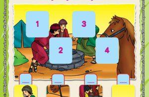 ebook Mengenal Nabi dan Rasul, Lembar Aktivitas PAUD TK Mengisi Kotak dengan Angka Sesuai Gambar