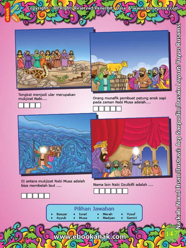ebook cinta nabi pahlawanku, Lembar Aktivitas PAUD TK Isi Kata Mengenal 25 Nabi dan Rasul (2)