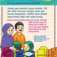ebook seri belajar islam sejak usia dini Ayo Belajar Hadits, Kata Nabi, Rido dan Murka Allah ada pada Orangtua Kita