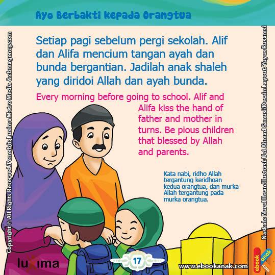 Hadits Berbakti Kepada Orang Tua Dan Guru Gambar Islami