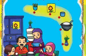 ebook seri belajar islam sejak usia dini Ayo Belajar Hadits, Lembar Aktivitas PAUD TK Menghubungkan Gambar yang Sama