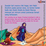 ebook seri belajar islam sejak usia dini Ayo Belajar Manasik Haji, Apakah Ibadah Sai Meniru Bunda Hajar Saat Mencari Air untuk Nabi Ismail