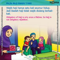 ebook seri belajar islam sejak usia dini Ayo Belajar Manasik Haji, Berapa Kali Orang Muslim Diwajibkan Ibadah Haji dalam Seumur Hidupnya