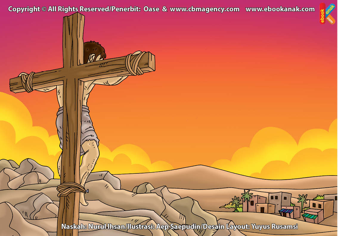 ilustrasi cinta nabi pahlawanku, Siapakah Nama Orang yang Disalib yang Berwajah Mirip Nabi Isa