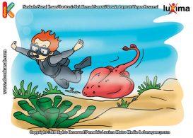 ilustrasi rahasia keajaiban hewan, Apakah Nama Hewan Laut yang dapat Menghasilkan Energi Listrik