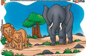 ilustrasi rahasia keajaiban hewan, Apakah Nama Hewan Pemangsa Terbesar di Afrika