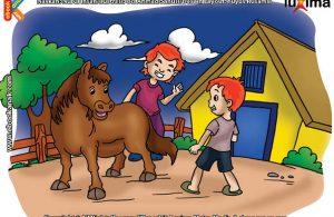 ilustrasi rahasia keajaiban hewan, Apakah Nama Kuda Terkecil di Dunia
