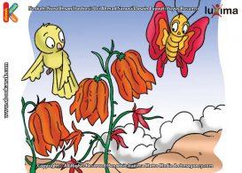 ilustrasi rahasia keajaiban tumbuhan, Benarkah Bunga Pengangguk Bisa Mengangguk-angguk Mirip Orang