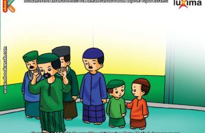 ilustrasi seri belajar islam sejak usia dini ayo belajar hadits, Inilah Salah Satu Keutamaan Pahala Shalat Berjamaah di Masjid