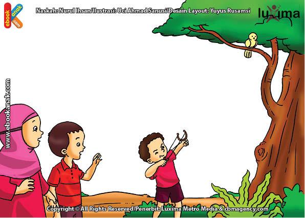 ilustrasi seri belajar islam sejak usia dini ayo belajar hadits, Inilah Salah Satu Perbuatan yang Dimurkai Allah