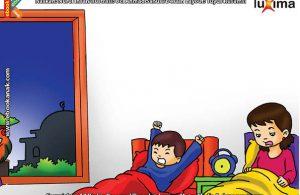 ilustrasi seri belajar islam sejak usia dini ayo belajar hadits, Kata Nabi Bangunlah Pagi-Pagi agar Diberkahi