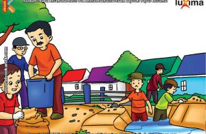 ilustrasi seri belajar islam sejak usia dini ayo belajar hadits, Kata Nabi, Kebersihan Itu Sebagian dari Iman