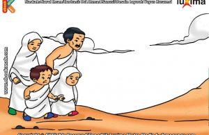 ilustrasi seri belajar islam sejak usia dini ayo belajar manasik haji, Pada Bulan Apa Umat Muslim Melaksanakan Ibadah Haji, Jika Tidak Melakukan Sai, Apakah Ibadah Hajinya