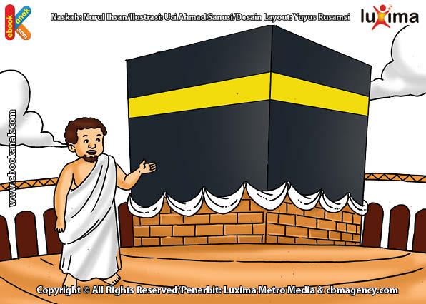 ilustrasi seri belajar islam sejak usia dini ayo belajar manasik haji, Sejak Nabi Siapa Ibadah Thawaf Mulai Dilakukan