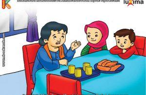 ilustrasi seri belajar islam sejak usia dini ayo belajar mengaji, Belajar Al Quran lebih Mudah Jika Dimulai Sejak Kecil