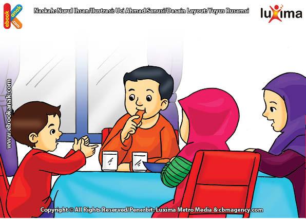 ilustrasi seri belajar islam sejak usia dini ayo belajar mengaji, Berbagi Ilmu dengan Mengajarkan