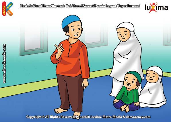 ilustrasi seri mengenal islam sejak usia dini mengenal hukum allah, Anjuran Shalat Sunah Sebagai Pelengkap Shalat Wajib 5 Waktu