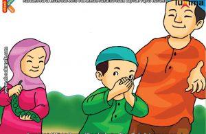 ilustrasi seri mengenal islam sejak usia dini mengenal hukum allah, Inilah Salah Satu Alasan Kenapa Makan Petai Hukumnya Makruh