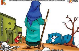 ilustrasi seri mengenal islam sejak usia dini mengenal nabi dan rasul, Kenapa Kaum Nabi llyas Diazab Allah dengan Kemarau Selama 3 Tahun