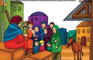 ilustrasi seri mengenal islam sejak usia dini mengenal nabi dan rasul, Seperti Apa Kesesatan Kaum Nabi Iyasa Itu