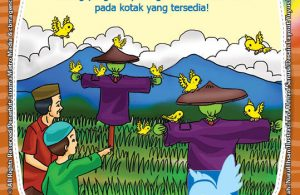 seri belajar islam sejak usia dini Mengenal Hukum Allah, Lembar Aktivitas PAUD TK Menghitung Burung pada Gambar