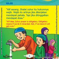 seri belajar islam sejak usia dini Mengenal Hukum Allah, Shalat Zuhur Wajib Hukumnya, Jangan Ditinggal Ya