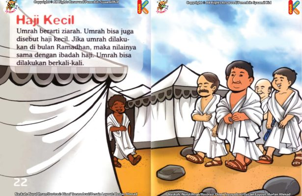 ebook seri fiqih anak asyiknya aku berhaji, Apa Keutamaan Ibadah Umrah di Bulan Ramadan