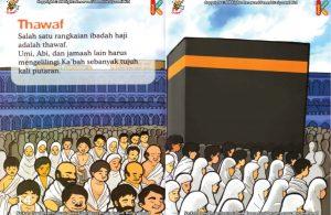 ebook seri fiqih anak asyiknya aku berhaji, Apa Nama Ibadah Haji Mengelilingi Kabah Tujuh Kali Putaran