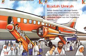 ebook seri fiqih anak asyiknya aku berhaji, Apa Perbedaan Ibadah Haji dengan Ibadah Umrah