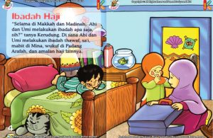 ebook seri fiqih anak asyiknya aku berhaji, Ibadah Apa Saja yang Dilakukan Selama Ibadah Haji