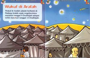 ebook seri fiqih anak asyiknya aku berhaji, Kapan Wukuf di Arafah Dilaksanakan