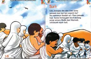ebook seri fiqih anak asyiknya aku berhaji, Kenapa Jamaah Haji Berlari-Lari Kecil Antara Shafa dan Marwah