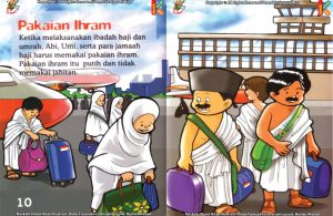 ebook seri fiqih anak asyiknya aku berhaji, Pakaian Apa yang Dikenakan Selama Ibadah Haji