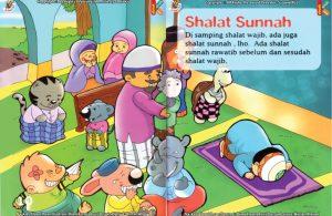 ebook seri fiqih anak asyiknya aku shalat wajib, Kapan Shalat Sunnah Rawatib Dilaksanakan