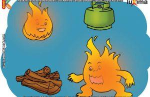 ilustrasi rahasia keajaiban api, Apa Saja Unsur-Unsur Pembentuk Api