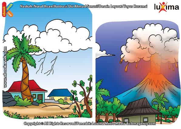 ilustrasi rahasia keajaiban api, Apa Saja yang Termasuk Sumber Alami Api