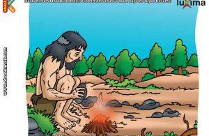 ilustrasi rahasia keajaiban api, Bagaimana Cara Manusia Purba Menemukan Api