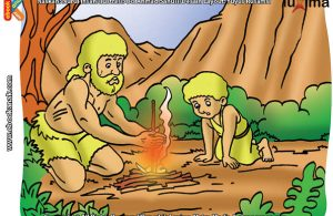 ilustrasi rahasia keajaiban api, Bagaimana Cara Manusia Purba Menghasilkan Api dengan Sepotong Kayu