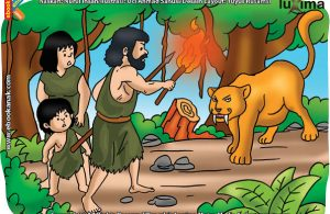 ilustrasi rahasia keajaiban api, Bagaimana Cara Manusia Purba Mengusir Hewan Buas