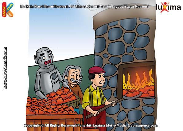 ilustrasi rahasia keajaiban api, Bagaimana Cara Membuat Batu Bata yang Kuat dan Keras