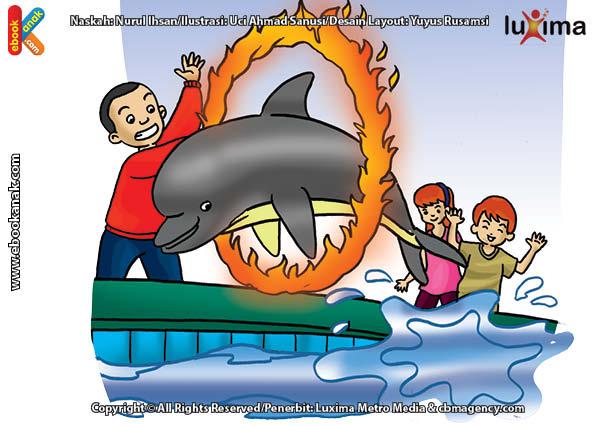 ilustrasi rahasia keajaiban api, Inilah Bukti Kecerdasan Lumba-Lumba