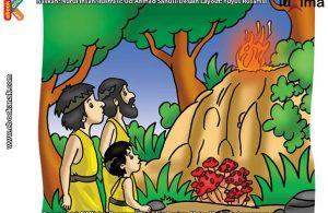 ilustrasi rahasia keajaiban api, Kapan Api Pertama Kali Ditemukan Manusia